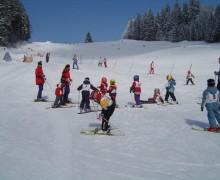 Skifahrer auf Hochficht