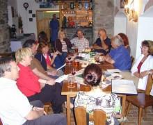 Oslava v restauraci penzionu U lípy