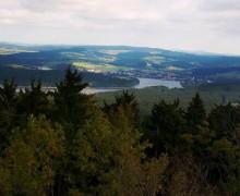 Výhled z Vítkova kamene