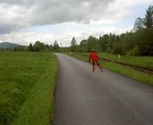 Stozec - Nova Pec Inline lokaler Weg