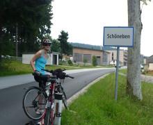 Na kole v Rakousku