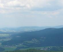 Výhled z rohledny Alpenblick