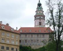 Český Krumluv - pohled na věž